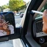 Курение в машине вредит по-особенному