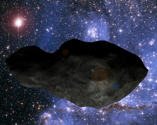 Астероид Клеопатра мчится к Земле