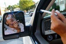 Сигарета за рулём